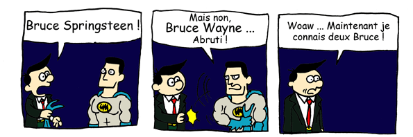 Batman vs Jerry Stobbart
